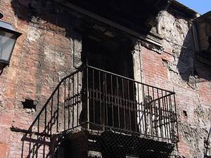 No Juliets on the balconies in Palermo - but it is still a ruined, ancient, magnificent city