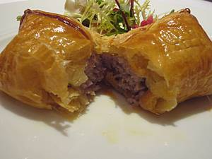 Posh sausage roll at Hibiscus