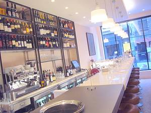 The marble counter at Bocca de Lupo, London
