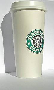 Starbucks claim they only buy happy coffee. How can they really know? Maybe this grande cup is laughing inside...